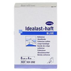 IDEALAST-haft color Binde 8 cmx4 m blau 1 Stück - Vorderseite