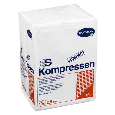 ES-KOMPRESSEN unsteril 10x12,5 cm 12fach 100 Stück