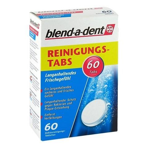 BLEND A DENT Reinigungs Tabs langanhalt.Frische 60 Stück