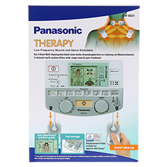 PANASONIC EW6021 Muskelstimulator TENS 1 Stück - Vorderseite