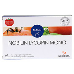 NOBILIN Lycopin Mono Kapseln 60 Stück - Vorderseite