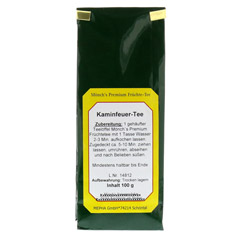 KAMINFEUER Tee M�nchs 100 Gramm - R�ckseite