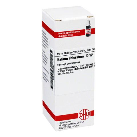 KALIUM CHLORATUM D 12 Dilution 20 Milliliter N1