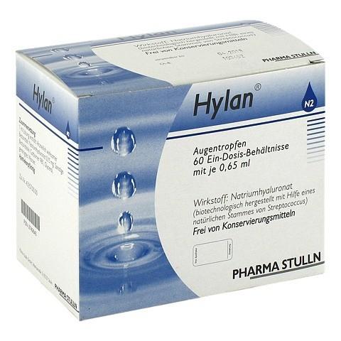 HYLAN 0,65 ml Augentropfen 60 St�ck N2