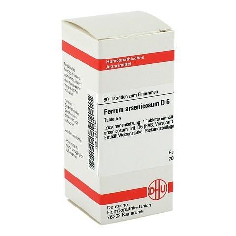 FERRUM ARSENICOSUM D 6 Tabletten 80 Stück N1