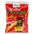 EM EUKAL Kinder Lolly Wildkirsche zuckerfrei 80 Gramm