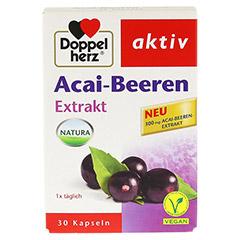 DOPPELHERZ Acai-Beeren Extrakt Kapseln 30 St�ck - Vorderseite