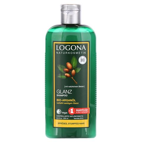 LOGONA Glanz Shampoo Bio-Arganöl 250 Milliliter