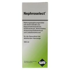 NEPHROSELECT 500 Milliliter - Vorderseite