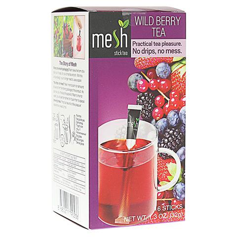 MESH stick Waldbeeren Früchtetee 16 Stück