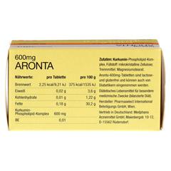 ARONTA 600 mg Tabletten 60 St�ck - Oberseite
