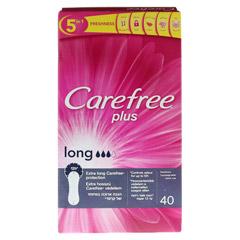 CAREFREE long plus Slipeinlagen 40 Stück - Rückseite