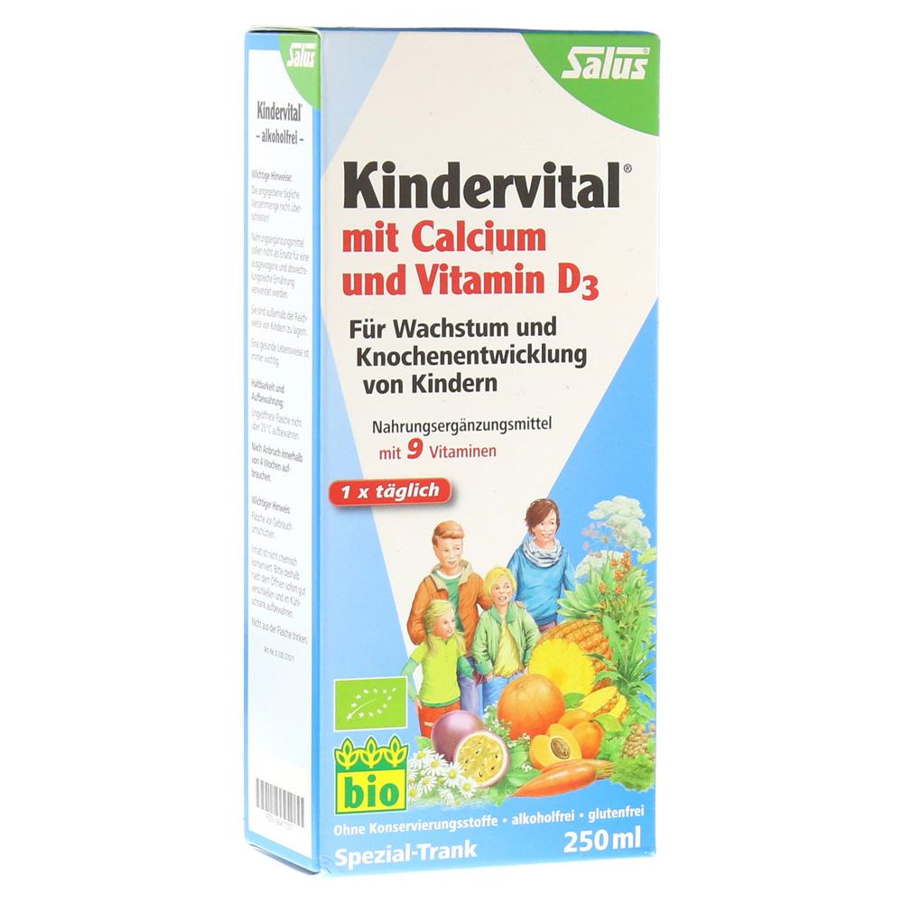 kindervital bio mit calcium und vitamin d3 salus 250 milliliter online bestellen medpex. Black Bedroom Furniture Sets. Home Design Ideas