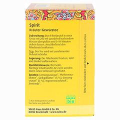 SPIRIT Kräutertee Bio Salus Filterbeutel 15 Stück - Linke Seite
