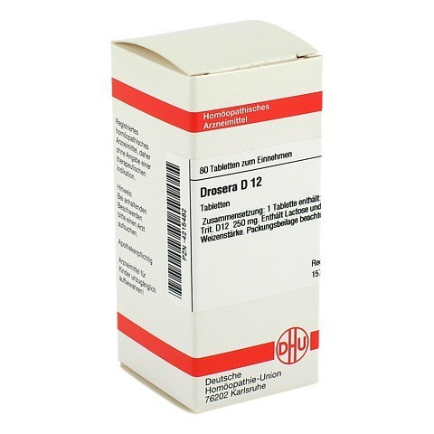 DROSERA D 12 Tabletten 80 St�ck N1