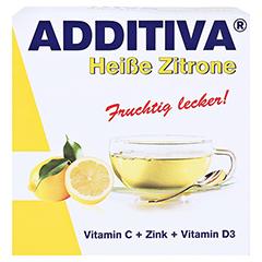 ADDITIVA hei�e Zitrone Pulver 120 Gramm - Vorderseite