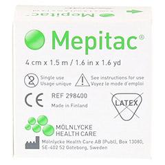 MEPITAC 4x150 cm unsteril Rolle 1 St�ck - R�ckseite