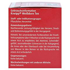 KNEIPP TEE Weißdornblüten Btl. 10 Stück - Rechte Seite
