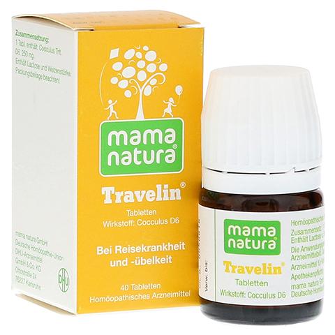 MAMA natura Travelin Reisetabletten 40 St�ck N1
