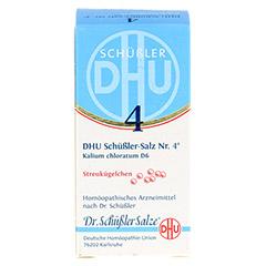 BIOCHEMIE DHU 4 Kalium chloratum D 6 Globuli 10 Gramm N1 - Vorderseite