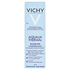 VICHY AQUALIA Thermal belebender Augenbalsam 15 Milliliter - Vorderseite