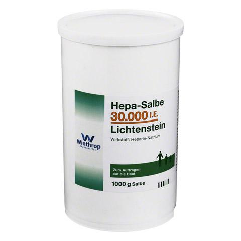 Hepa-Salbe 30000I.E. Lichtenstein 1000 Gramm
