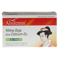 ALSIFEMIN Klima-Soja plus Calcium D3 Tabletten 60 Stück - Vorderseite