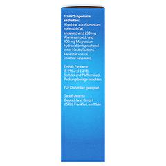 Maaloxan 25mVal Beutel 10x10 Milliliter - Linke Seite