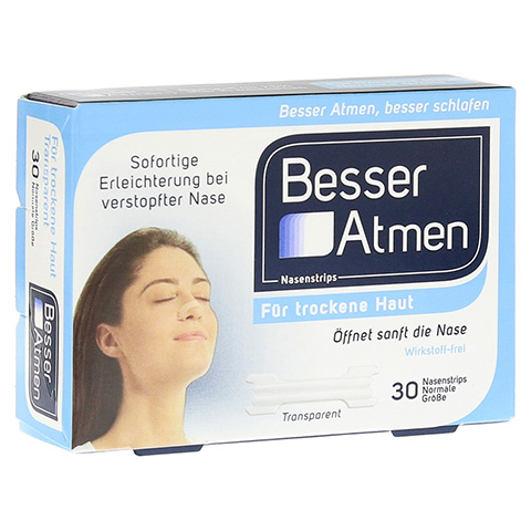 Besser Atmen Nasenstrips 30 Stück