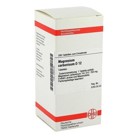 MAGNESIUM CARBONICUM D 12 Tabletten 200 St�ck N2