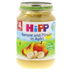 HIPP Früchte Banane-Pfirsich-Apfel 190 Gramm