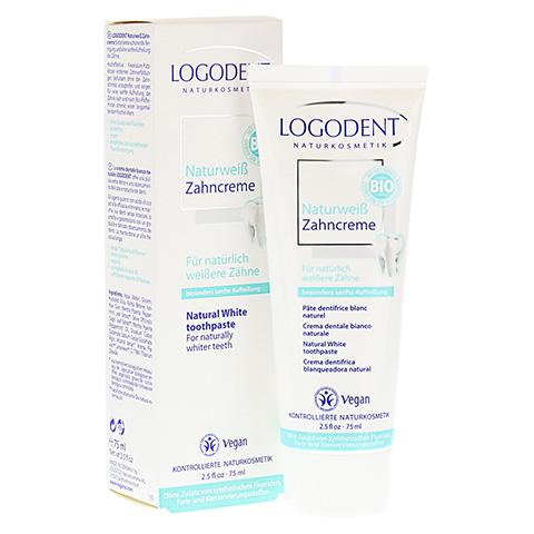 LOGODENT Naturweiß Zahncreme 75 Milliliter