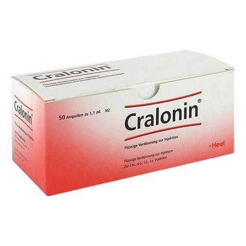 CRALONIN Ampullen 50 Stück N2
