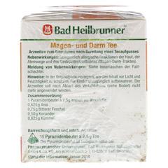 BAD HEILBRUNNER Tee Magen und Darm Pyramidenbeutel 15 Stück - Rechte Seite
