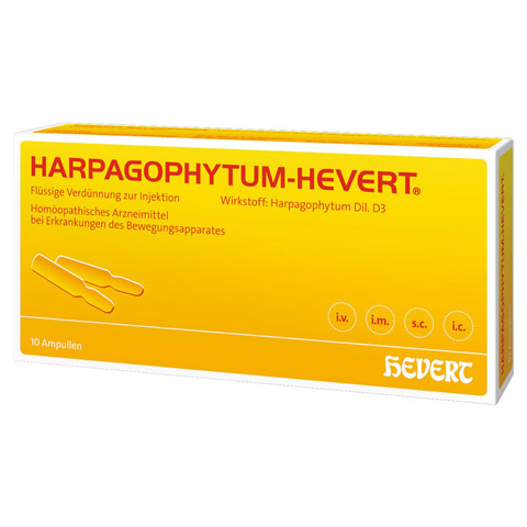 HARPAGOPHYTUM HEVERT Ampullen 10 Stück N1