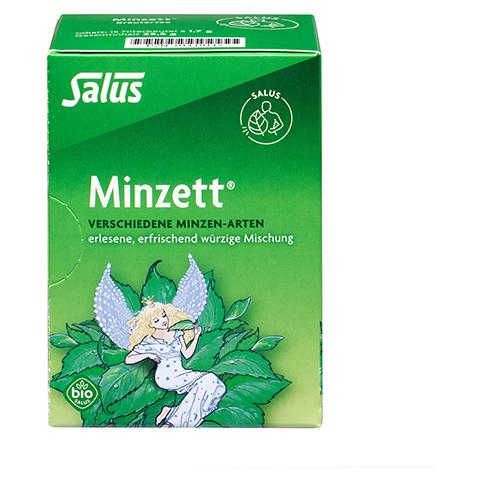 MINZETT Kr�utertee Bio Salus Filterbeutel 15 St�ck