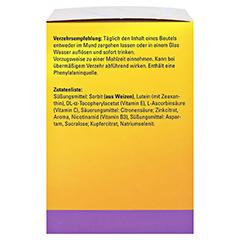 CENTROVISION Lutein 15 mg direkt Granulat 3x28 Stück - Rechte Seite