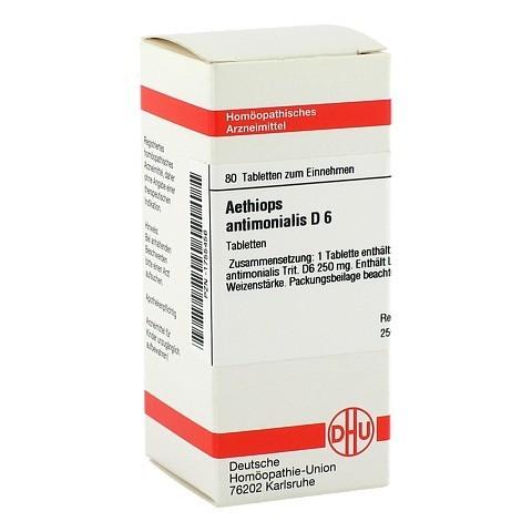 AETHIOPS antimonialis D 6 Tabletten 80 Stück N1