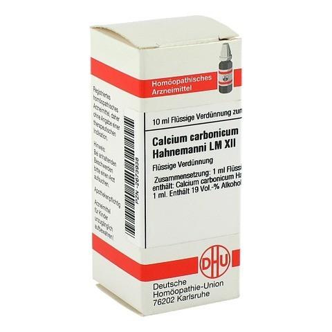 LM CALCIUM carbonicum Hahnemanni XII Dilution 10 Milliliter N1