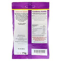BLOOMFIELD Cranberry-Aronia gef.Bonbons 75 Gramm - Rückseite