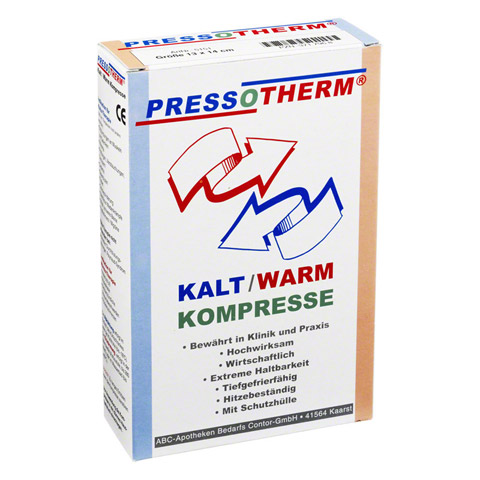 PRESSOTHERM Kalt-Warm-Kompr.13x14 cm 1 Stück