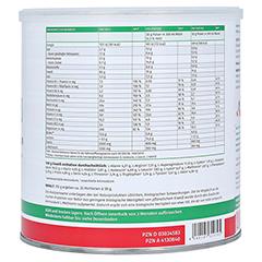 Megamax Soja Eiweiß Vanille Pulver 750 Gramm - Linke Seite