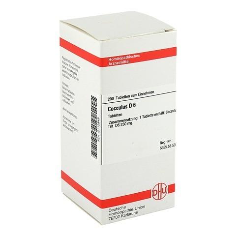 COCCULUS D 6 Tabletten 200 St�ck N2