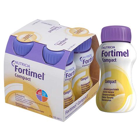 FORTIMEL Compact 2.4 Bananengeschmack 4x125 Milliliter