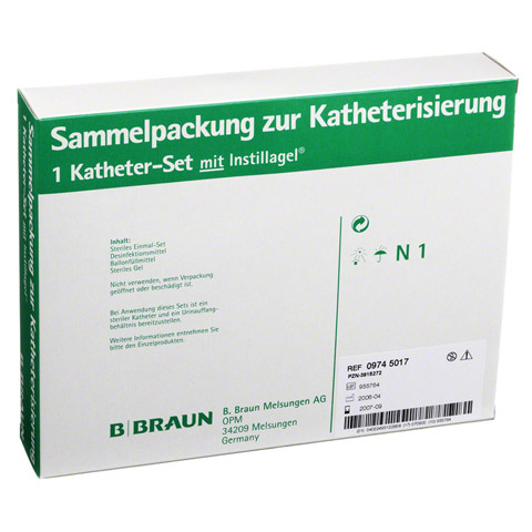 KATHETER Set mit Instillagel 1 Packung