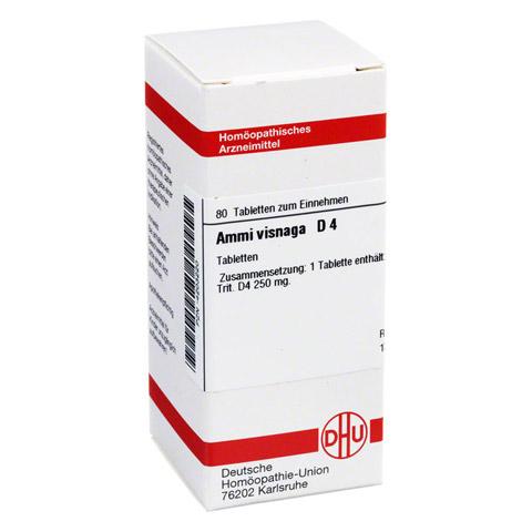 AMMI VISNAGA D 4 Tabletten 80 Stück N1