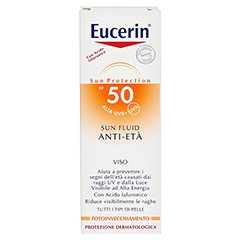 EUCERIN Sun Fluid Anti-Age LSF 50 50 Milliliter - R�ckseite