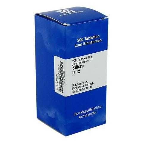 BIOCHEMIE 11 Silicea D 12 Tabletten 200 St�ck N2