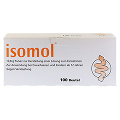 ISOMOL Plv.z.Herst.einer L�sung zum Einnehmen 100 St�ck - Vorderseite