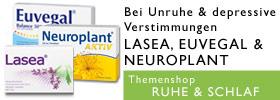 Ruhe & Schlaf Lasea Euvegal Neuroplant Themenshop